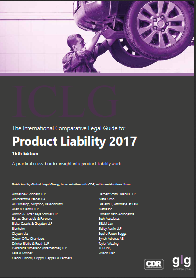 ICLG: Product Liability 2017